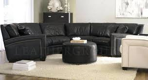 Bernhardt Sectional Sofa Sectional Bernhardt Curved Leather Sectional Clarice Designer