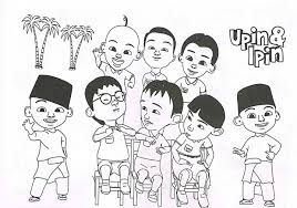 hd wallpapers coloring pages upin dan ipin iik 000d info