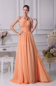 apricot casual sheath halter sleeveless floor length sequin
