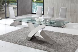 modern glass dining table quilted excellent white table chairs white dining sets furniture choice