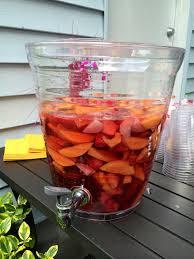 birthday cocktail our u0027georgia peach u0027 1st birthday party u0026 peach sangria recipe