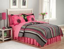 Pink And White Striped Rug Bedroom Mesmerizing Bedding For Teenage Bedroom Design Ideas