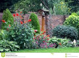 english country garden stock photo image of garden rural 1621018