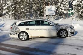 opel 2014 spied 2014 opel insignia sports tourer facelift