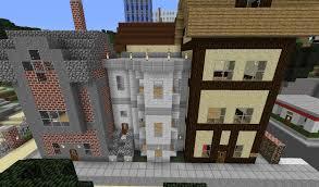Modern Row House by Hakata U0027s Modern City Finally Downloadable Creative Mode