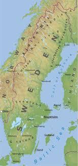 map of sweden maps of sweden bizbilla