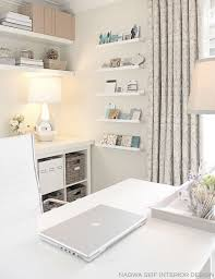 White Home Interior Design by 20 Ways To Decorate Home Office In White