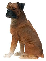boxer dog yorkshire amazon com boxer dog collectible statue figurine figure