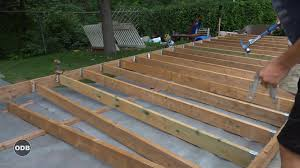 how to build a deck nz how to build a deck part 3 ground level deck youtube
