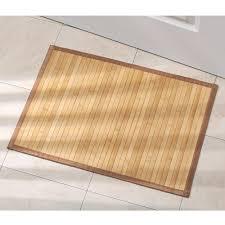 amazon com interdesign bamboo floor mat u2013 ideal mat for kitchens