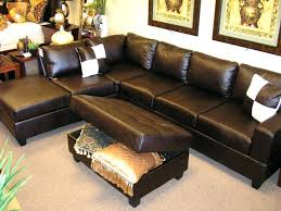 Leather Tufted Sectional Sofa Ottoman Attractive Wonderful Leather Tufted Ottoman Coffee Table