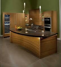 plan de travail cuisine arrondi ilot central pour cuisine la galerie et impressionnant plan de