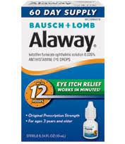 Legally Blind Prescription Strength Eye Itch Alaway Antihistamine Eye Drops U2013 Up To 12 Hours Of