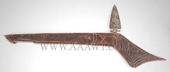 war club gunstock war club with spear point blade f801