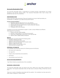 Sample Resume For Accounts Payable Specialist by Job Accounts Payable Job Description Resume