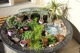 then she made fairy garden