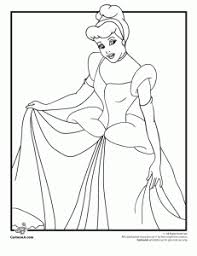 cinderella coloring pages 6 plus tinkerbell coloring pages snow