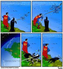 Superman Better Than Batman Memes - batman vs superman dawn of beach day weknowmemes