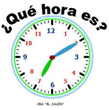 los numeros el tiempo que hora es mr chance