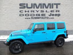chief jeep wrangler 2017 sold 2017 jeep wrangler unlimited sahara winter edition chief blue