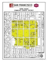 San Francisco Neighborhood Map by Yerba Buena Office Of Economic And Workforce Development