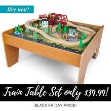 imaginarium train set with table 55 piece best black friday train table deals cyber monday sales 2018