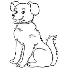 dog coloring pages for toddlers top 10 free printable farm animals coloring pages online