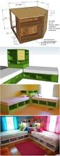 how to diy corner unit for the twin storage bed kids storage