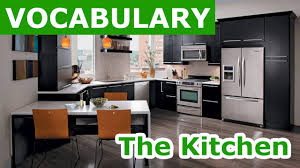 in the kitchen vocabulary learn english vocabulary with pictures