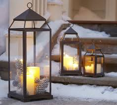 Decoration Christmas Candle by Outdoor Christmas Decoration Ideas 30 Simple Displays