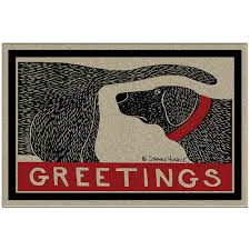 amazon com humorous dog sniffing welcome doormat offers unique