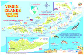 Map Of The Caribbean Island by Printable Travel Maps Of The Virgin Islands Stuning Us Virgin