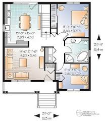 Bungalow Plans With Basement by House Plan W3122 Detail From Drummondhouseplans Com