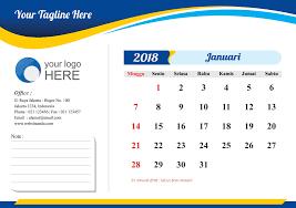 desain kalender meja keren desain kalender meja 2018 cdr info percetakan