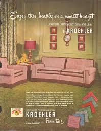 kroehler furniture home 02 pinterest mid century living