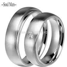 cheap wedding bands for him and 6mm couples titanium stainless steel wedding bands him and