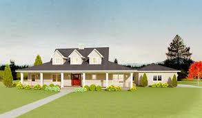 country house plan with upstairs game room 28909jj