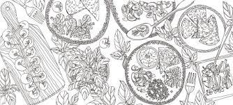 coloriage recette de cuisine recettes du jardin à cuisiner et à colorier laure kié
