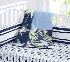 Surfer Crib Bedding Surf Patch Nursery Bedding Set Pottery Barn