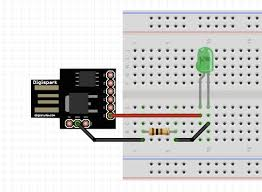 attiny85 for simple projects arduino basics hackster io
