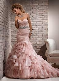 pink wedding dress blushing pink wedding dress atdisability