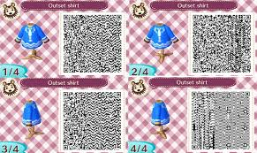Qr Code For Link U0027s Outset Shirt Available In Animal Crossing New