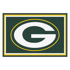 Green Bay Packers Home Decor Amazon Com Nfl Green Bay Packers 5 X 8 Rug Area Rugs
