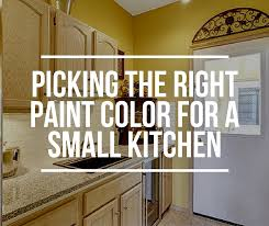 kitchen color ideas for small kitchens how to pick the right paint color for a small kitchen