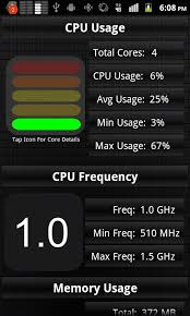 android cpu usage app android 2 1 cpu usage frequency android development