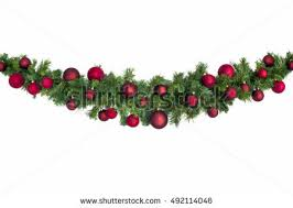 christmas garland christmas garland stock images royalty free images vectors