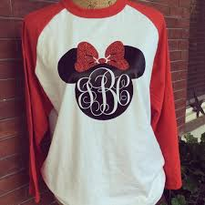 minnie mouse monogram monogrammed minnie mouse or mickey mouse baseball jersey sweet