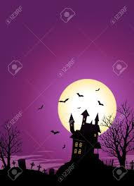 spooky halloween pictures free illustration of a spooky haunted castle on hill inside halloween