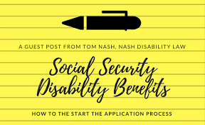 social security disability benefits starting the application process