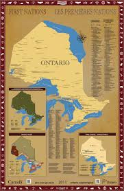 ontario first nations maps ontario ca
